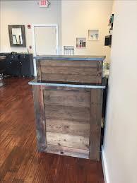 Led Reception Desk Moonlit Led Small Salon Reception Desk With Regard To Small Salon