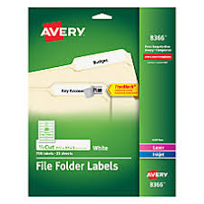 file labels at office depot officemax