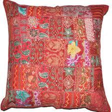 24x24 Decorative Pillows Shop Indian Throw Pillows On Wanelo