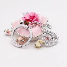 s ring the sparkling diamond word s alloy key ring jeepjewelry wholesale