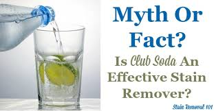 Remove Red Wine Stain From Upholstery Is Club Soda An Effective Stain Remover Myth Or Fact