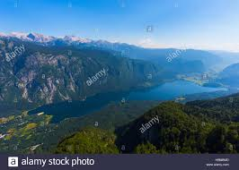 Slovenia Lake Triglav National Park Upper Carniola Slovenia Lake Bohinj Seen