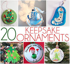 20 diy keepsake ornament kid crafts