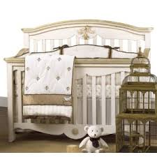 Beige Crib Bedding Set Petit Tresor 4 Nesting Crib Bedding Set