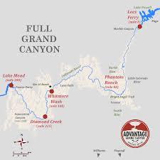 Grand Canyon Maps Which Route Advantage Grand Canyon