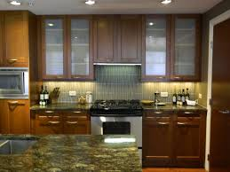 Glass Shelves Kitchen Cabinets Chic Kitchen Cabinet Glass 4 Black Glass Kitchen Cabinet Knobs