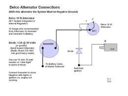 1 wire alternator diagram u0026 wire alternator wiring diagram on