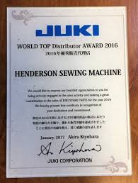 henderson sewing