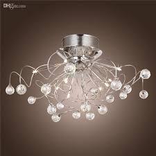 Led Chandelier Modern Crystal Led Chandelier Ceiling Light Fixture Lighting