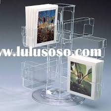 acrylic greeting card display stand for sale price china