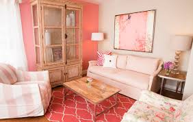 Excellent  Pretty In Pink Living Room Designs Home Design - Pink living room design