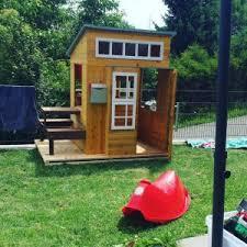 Big Backyard Savannah Playhouse by Modern Outdoor Playhouse