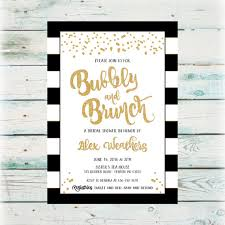 bridal shower invitations brunch bubbly and brunch bridal shower invitation digital bridal shower