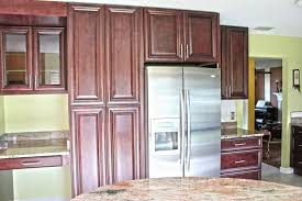 Pantry Cabinets For Kitchen Fabuwood Cabinetry Merlot Glaze Elite Door Style Kitchen Pantry