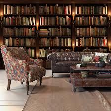 3d Bookshelf Beibehang 3d Simulation Bookcase Bookshelf Wall Paper Cafe Study