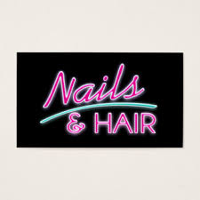 neon sign business cards u0026 templates zazzle
