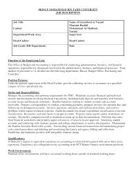description of job duties for cashier ideas of cashier job description on resume spectacular head