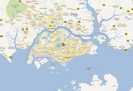 Map Of Singapore Singapore Map