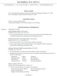 Samples Of Resumes With Objectives by Sample Resume Objectives For Any Job Gallery Creawizard Com