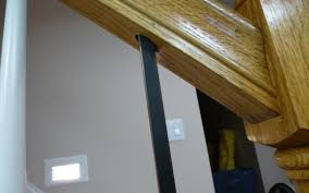 Replace Stair Banister Replacing Wooden Stair Balusters Spindles With Wrought Iron