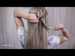 tutorial rambut waterfall waterfall braid by week videos myweb