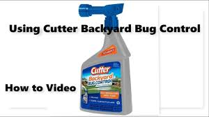 cutter backyard bug control spray youtube