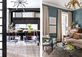 how to make traditional decor feel fresh on the left is a chic dining room with acrylic chairs a textured area rug