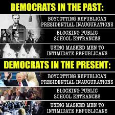 Democrat Memes - epic meme compares democrats in the past to democrats today