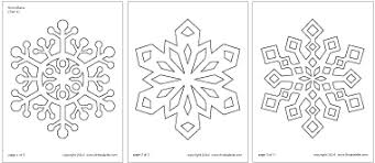 printable snowflake pictures free coloring pages on art coloring