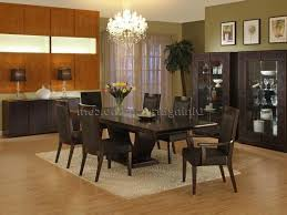 Dark Wood Kitchen Table Art Deco Dining Rooms Round Maroon Stained Wooden Dining Table