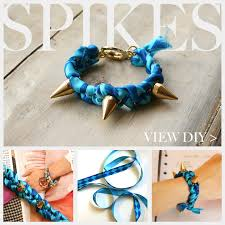 bracelet diy easy images Spike bracelet diy jpg