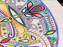 therapy colouring books for adults