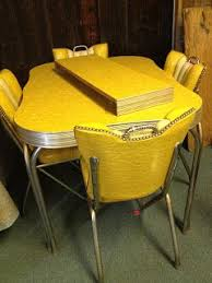1950s chrome kitchen table and chairs c dianne zweig kitsch n stuff cleaning up chrome legs on