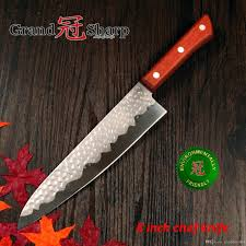 grandsharp 8 inch chef knife german stainless steel 1 4116