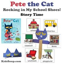 story time pete the cat rocking in my shoes kidssoup
