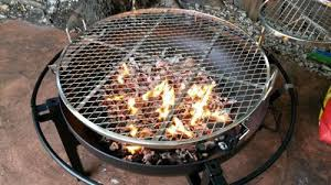 Cowboy Firepit Rivergrille Cowboy 31 In Charcoal Grill And Pit Gr1038