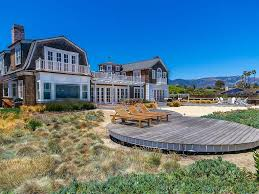 oceanfront private beach pool 5 bed homeaway santa barbara