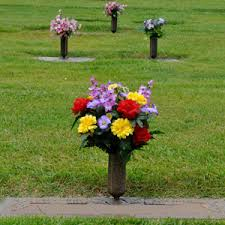 A Flower Vase Flowers For Cemeteries Inc