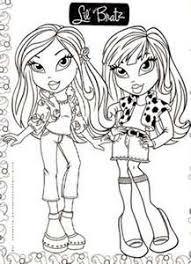 bratz coloring pages twins babyz 2 bratz u0027 blog