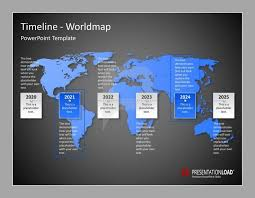 world map timeline powerpoint template presentationload http