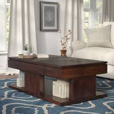 power of books sculptural glass topped side table modern coffee tables allmodern