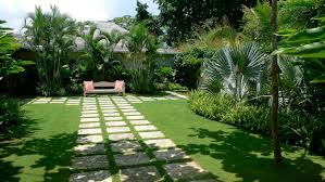 Beautiful Gardens Ideas Small Tropical Theme Home Garden Design Imposing Yard Landscaping
