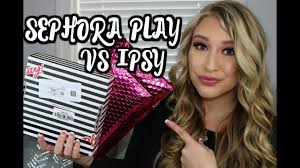 does sephora have black friday sales sephora play vs ipsy subscription unboxing u0026 black friday deals