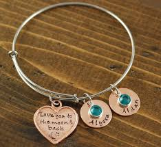 copper charm bracelet images We love you grandma gold bangle bracelet lovable keepsake gifts jpg