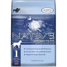kent native performance dog food 7266 do it best