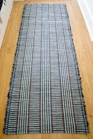 rug runner 2 x 6 neutral runner rug made cotton rag rug runner in