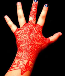 red sharpie henna tattoo by kurotsuki kietsu on deviantart