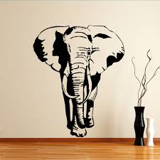 quality elephant animal wall sticker animal and mythical quality elephant animal wall sticker
