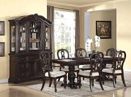 dining table distressed dining room table set black furniture