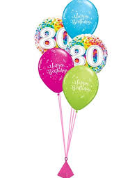 30th birthday balloon delivery 80th birthday balloon bouquet party fever
